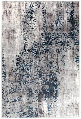 Mist Breeze Distressed Modern Rug Blue Grey White Modern Rugs Blue Blue Grey Rug Rugs On Carpet