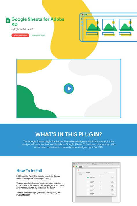 Google Sheets for Adobe XD