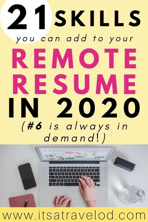 Pin On Remote Resume Tips