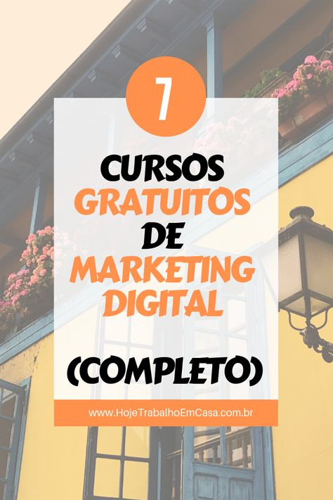 7 CURSOS GRATUITOS sobre MARKETING DIGITAL | Por Ale Riquena