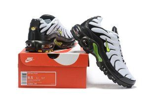 Mens Summer Shoes Nike Air Max Plus Tn Black White Green Nike