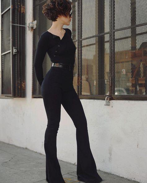 """@karla_deras wearing the Evelyn in black⚡️⚡️RELEASING NEXT WEEK AT THELINEBYK.COM"""