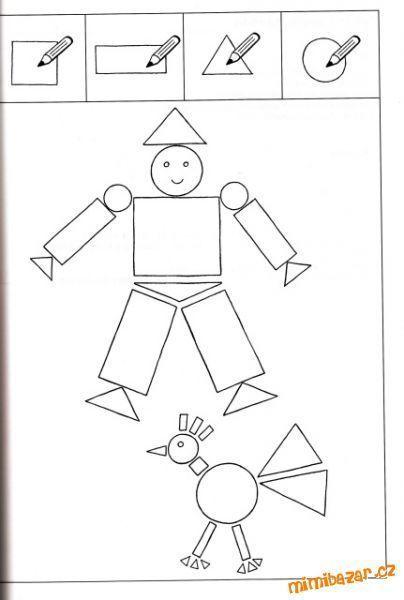 Mathe Geometrie Formen Ausmalen Ausmalbilder Kindergarten