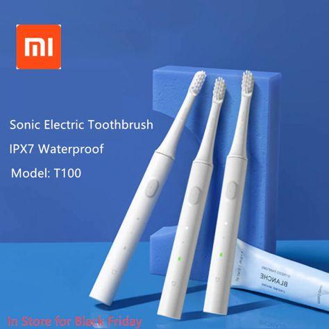 Original Xiaomi Mijia T100 Sonic Electric Toothbrush Adult