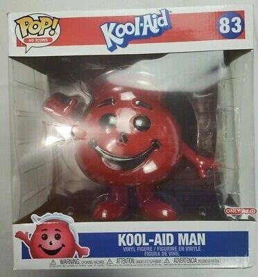 Ebay Ad Url Funko Pop Ad Icons Kool Aid Man 10 Inch 83 Target Exclusive Oh Yeah Kool Aid Man Kool Aid Funko Pop Collection