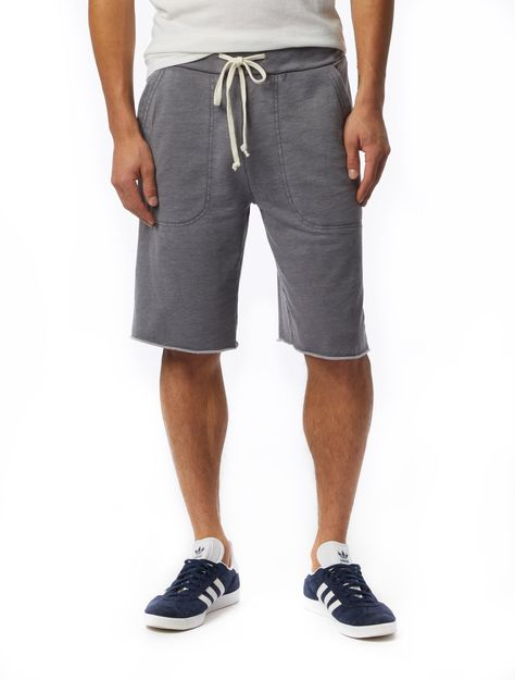 The Getaway French Terry Shorts - Grey / M