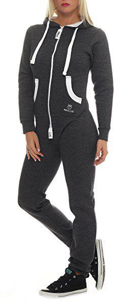 bestbewertetes Original neueste auswahl weltweit verkauft PRINZ LUIS Damen Jumpsuit Jogger Jogging Anzug ...