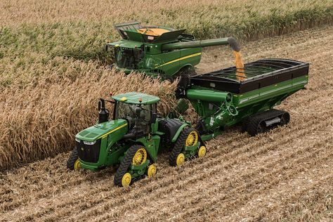 Simplify Harvesting with the New John Deere Software Update