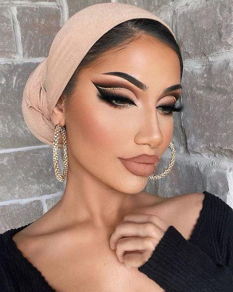 Bold Eye Makeup, Arabic Makeup, Creative Makeup Looks, Glam Makeup Look, Fall Makeup Looks, Colorful Eye Makeup, Cute Makeup, Gorgeous Makeup, Eyeshadow Makeup