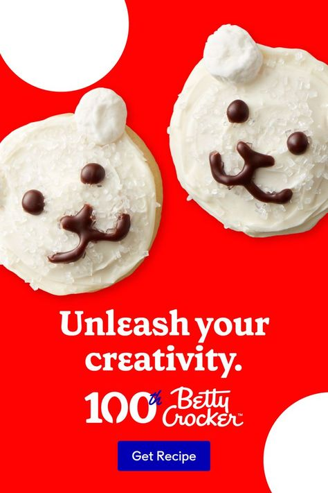 Your Christmas Polar Bear Cookie creations will cause quite the stir. They're cute, tasty and impossible to forget.