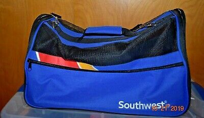 New Southwest Airlines Tsa Approved Standard Pet Carrier Never