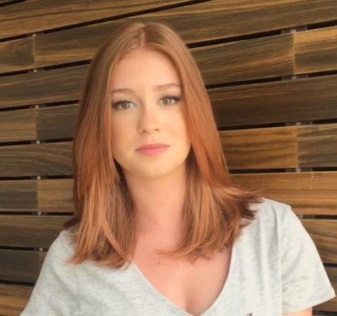 Medium Length Hairstyle for Fine Straight Hair