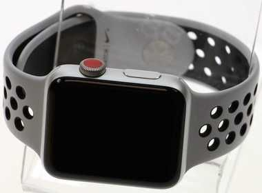 oficial últimos diseños diversificados venta limitada Apple Watch S3 Silver Aluminum 38mm Nike S Band Pure Platinum ...