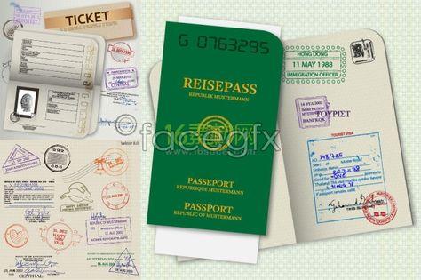 Passport template vector Fathom - Oktoberfest Ideas Pinterest - passport template