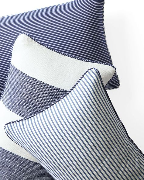 Outdoor Simple Stripe Pillows in 2020