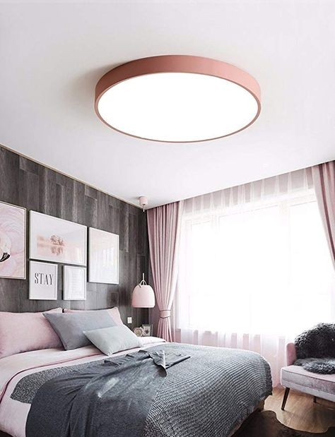 LED Deckenleuchte Runde Farbe Nordic Modern Simple Style ...