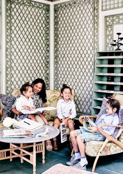 Family Time - Inside The Stately Home Of Los Angeles Jewelry Designer Jeet Sohal - Photos