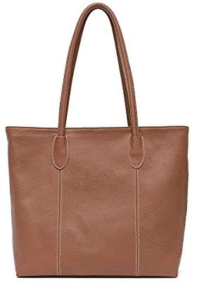 ddcac78a38c2 Amazon.com: Genuine Cow Leather Women Tote Bag STEPHIECATH Brand ...