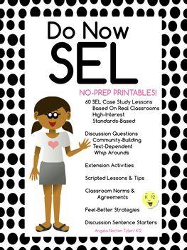 Do Now Sel Social Emotional Learning Program Morning Meeting Bell Ringer Social Emotional Learning Social Emotional Positive Classroom Management
