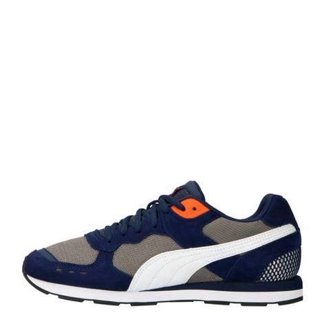 Vista sneakers blauw/wit/rood - Blauw, Schoenen en Rood