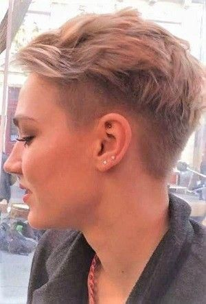 Photo of undercut frauen kurzhaar