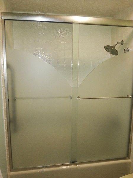 Creative Bypass Shower Doors Creative Mirror Shower In 2020 Shower Doors Bypass Shower Door Shower Sliding Glass Door