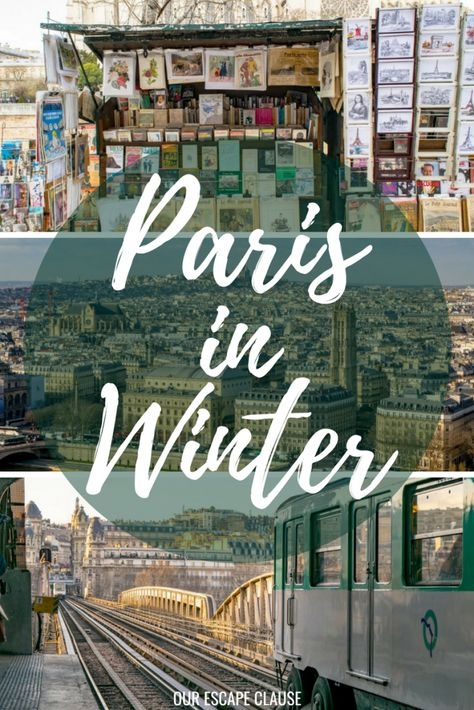 Paris in Winter: everything you need to know (& why you should go). #paris #france #travel #wintertravel #paristravel #paristrip #winter #parisinwinter