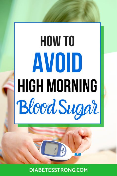 Wondering why your blood sugar sometimes can be high in the morning? Learn 3 easy ways to prevent high morning blood sugar in this post. Prevent Diabetes, Cure Diabetes, Type 1 Diabetes, Diabetes Awareness, High Blood Sugar Symptoms, Blood Sugar Solution, Lower Blood Sugar Naturally, Diets