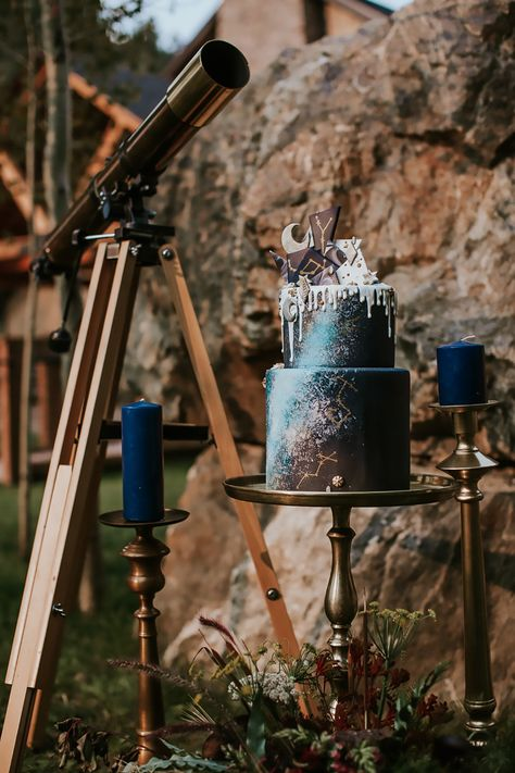 Celestial Game of Thrones Inspired Mountain Bridal Shoot - Game of thrones inspired weddings - Wedding Cakes