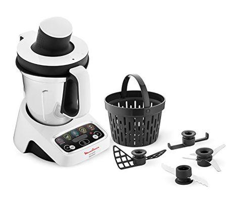 Moulinex Hf4041volupta Robot De Cuisine Multifonction Avec Cuisson