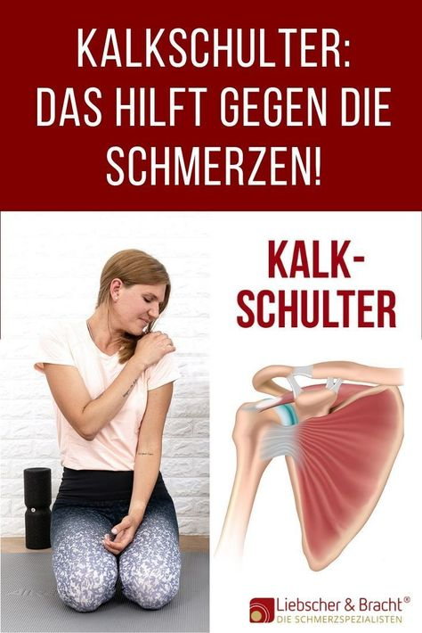 #pain #shoulder -   Kalkschulter: Learn what's behind your pain and how you can feel noticeably more comfortable! # shoulder pain #coral shoulder