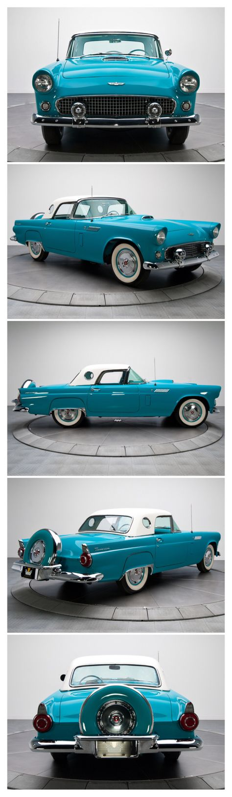 1956 Ford T-bird <3....Re-pin...Brought to you by #CarInsurance at #HouseofInsurance in Eugene, Oregon