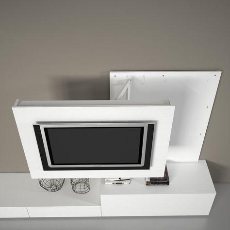 Porta Tv Orientabile.Porta Tv Orientabile Girevole X2 Dettaglio Prodotto Casa