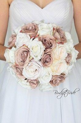 Mauve And Blush Wedding Brides Bouquets Rose Gold Wedding Flowers Gold Wedding Flowers Rose Gold Bouquet