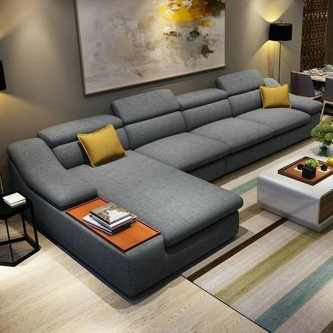 Pin By Roberto Camino On Decoracion Hogares Living Room Sofa Design Modern Sofa Designs Modern Sofa Set