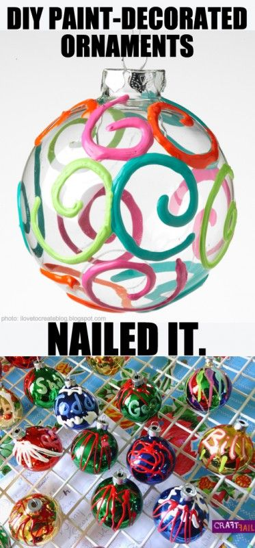 Swirl ornament - nailed it!