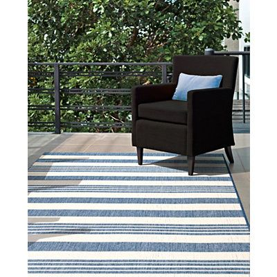 Blue Robin Stripe Outdoor Rug 8x11 Area Rugs Rugs Usa Outdoor Rugs