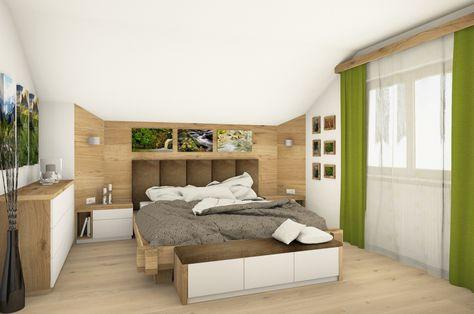 Schlafzimmer In Eiche C House Future References Schlafzimmer