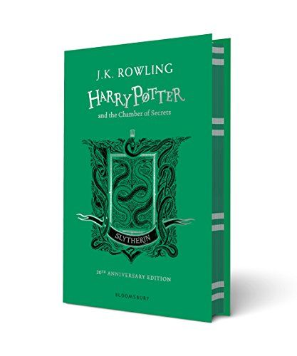 Download Harry Potter And The Chamber Of Secrets Slytherin Edition By J K Rowling Pdf Epub Kindle Aud Chamber Of Secrets Harry Potter Hardcover Slytherin
