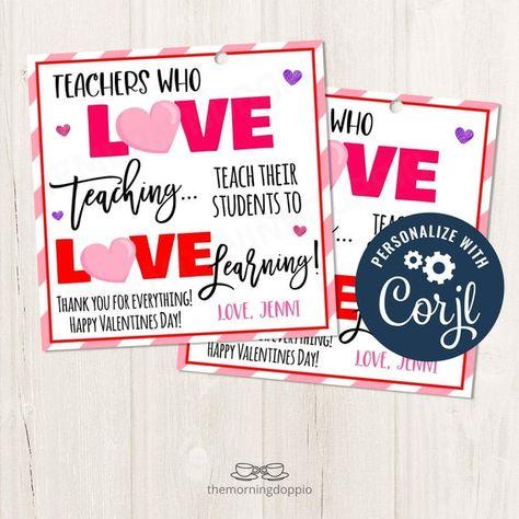 #ValentinesDayTag #TeacherValentines #ValentinesforTeachers #TeacherAppreciation #CoffeeandDonuts #DYIValentines #ThankYouTag #PTOAppreciation #PTOValentines