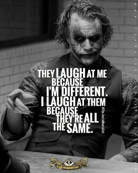 Joker <<we don't own the pics>> #quote #quotes #quoteoftheday #theme  #justquotes #randomquotes #quotesdaily #quotestoliveby #quotestags #quotestagram #quotesandsayings #random #allquotes #quotesforyou #like4like #likeforfollow #likeandfollow #awesome #awesomeness #awesomequotes #wordstoliveby #wordsofwisdom #feelingquotes #wonderful #speechless #encouragement #inspiration #inspirationalquote #passion  #randomquotes #motivational