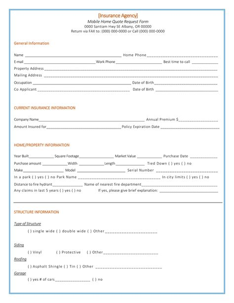 Home Insurance Quote Template Quotation Templates - Dotxes - how to create a quotation template