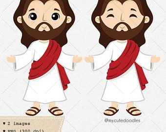 Jesus clipart Jesus Christ First communion clipart   Etsy in 2020