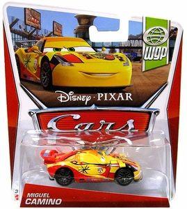 Pixar CARS Movie 1:55 Die Cast Car MAINLINE Carla Veloso with Flames Allinol Blowout 1//9 Disney