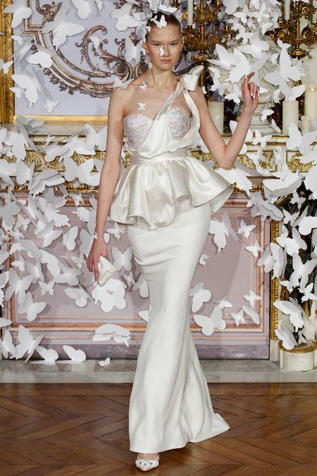 Best Bridal Looks from the Spring 2014 Paris Fashion Week  -Munaluchi Bride