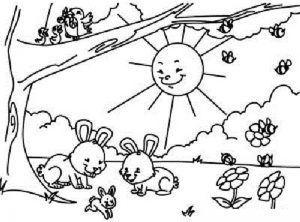 Imagenes De La Primavera Para Dibujar Dificiles Dibujos D Amor Flores Paisajes Primaverales Paginas Para Colorear Para Ninos Dibujos Para Colorear Primavera