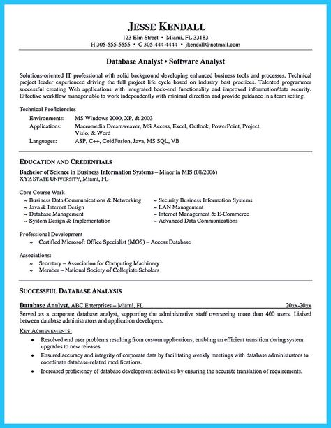 nice High Quality Data Analyst Resume Sample from Professionals - data communications analyst sample resume