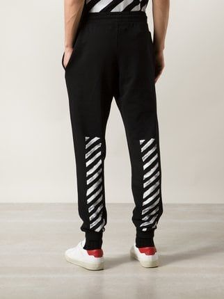 c59e2c9a Off-White Striped Track Pants - Farfetch   off white pants in 2019 ...