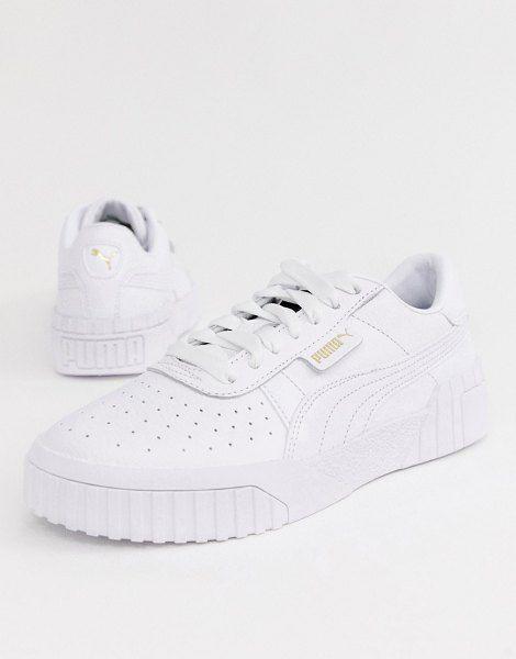 Puma Cali Triple White Sneakers | White