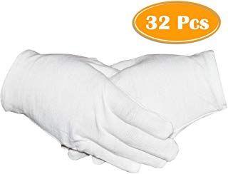 Amazon Com Disposable Cotton Gloves For Women Cotton Gloves Work Gloves Gloves